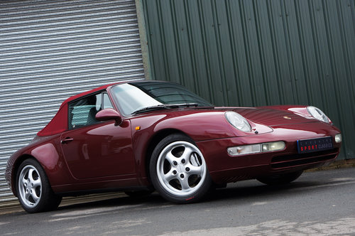 1996 Porsche 911 (993) Carrera 4 Cabriolet - Manual, FSH, Superb. SOLD (picture 2 of 6)