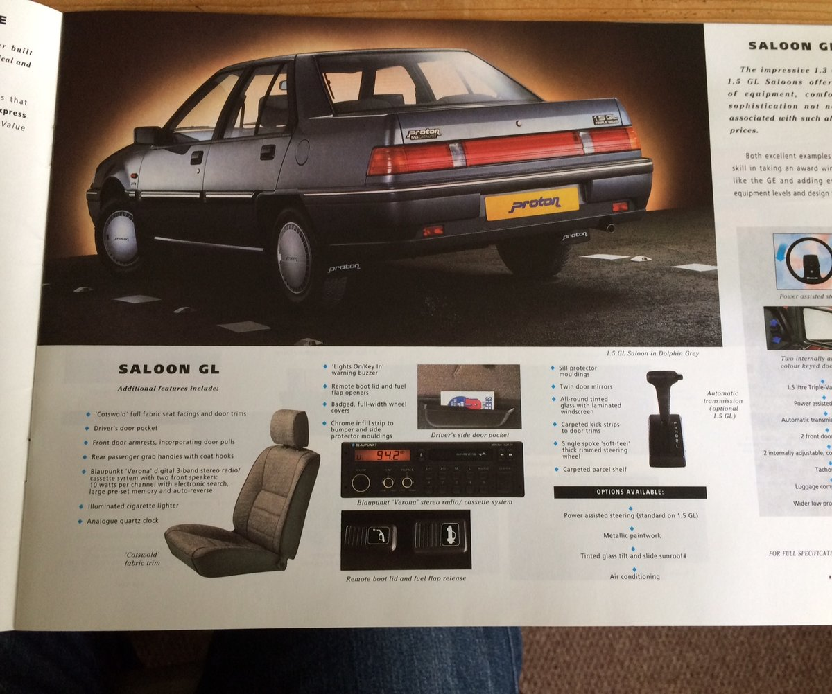 Proton Mpi sales brochure. For Sale (picture 4 of 6)