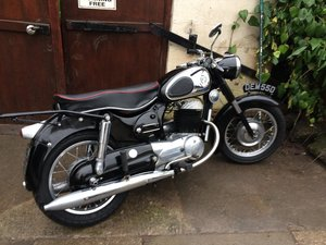 1966 Puch 250 sgs uk bike from new.