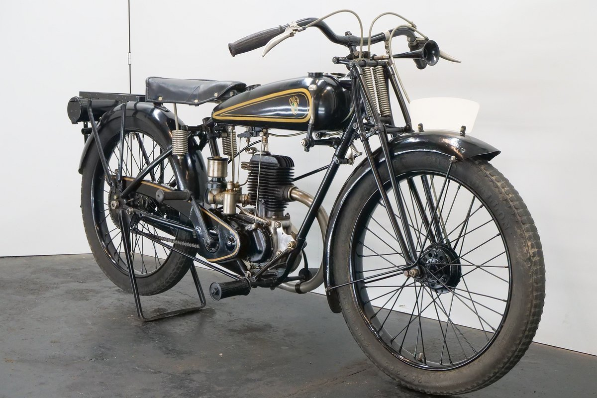 Puch 220 1928 223cc 2 cyl ts For Sale (picture 4 of 6)