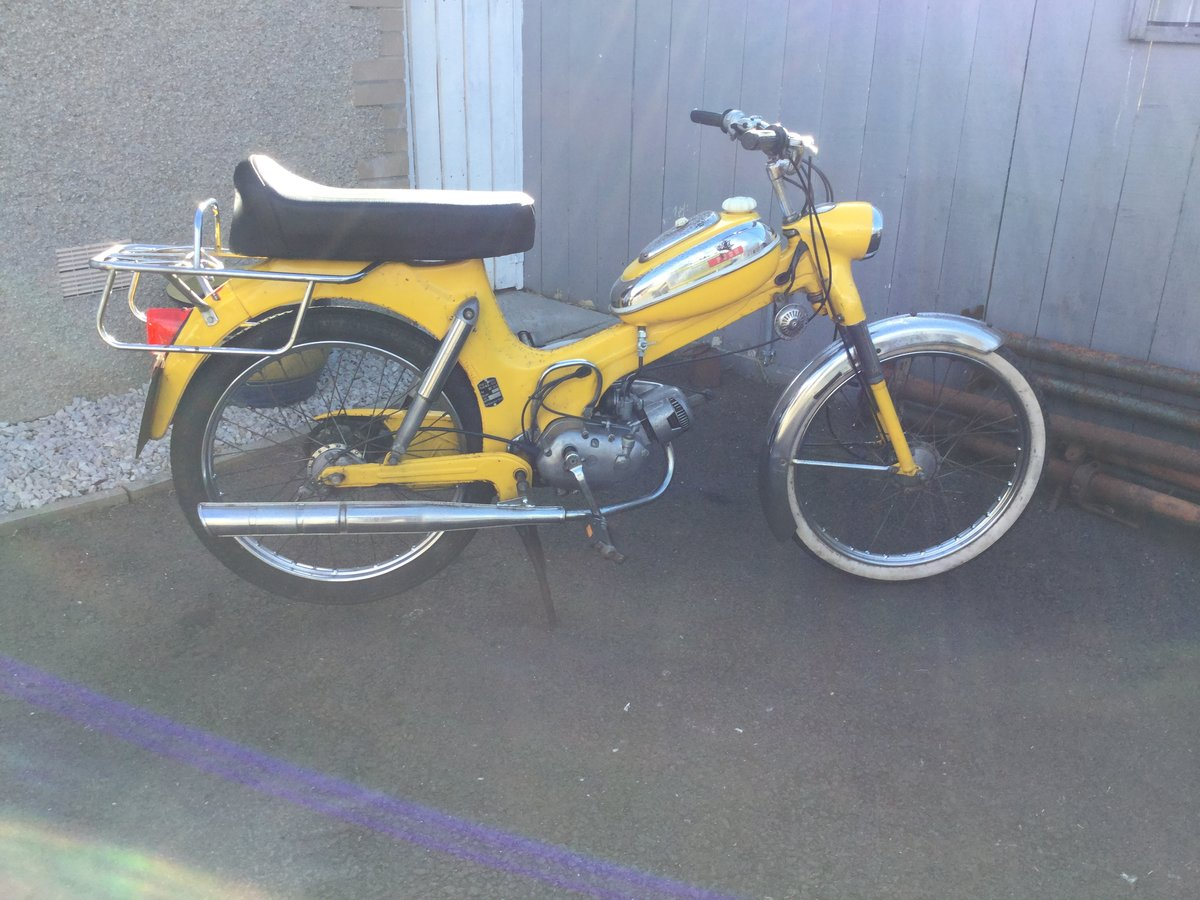 1973 Puch MV50 mopeds X 2 For Sale (picture 2 of 6)