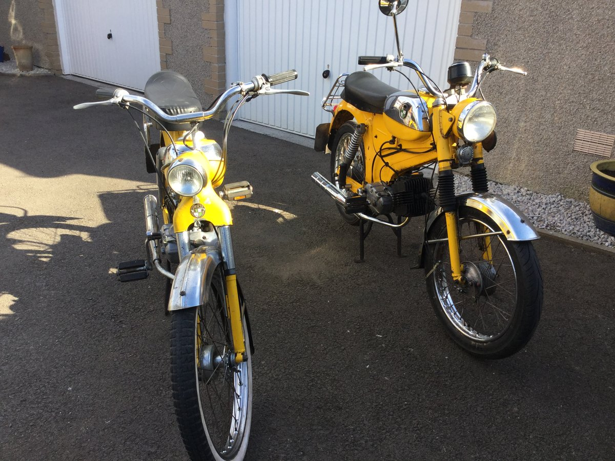 1973 Puch MV50 mopeds X 2 For Sale (picture 5 of 6)