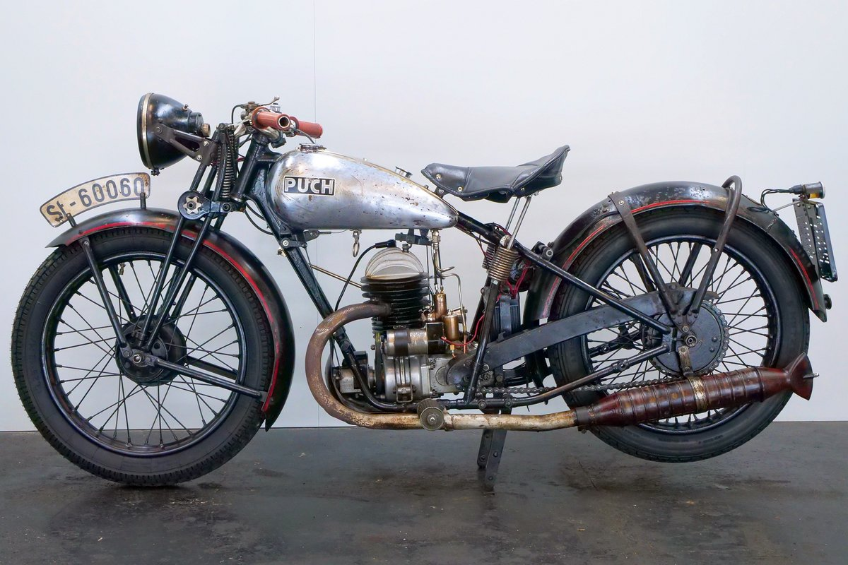 Puch 250 Sport 1932 250cc 2 cyl ts For Sale (picture 2 of 6)