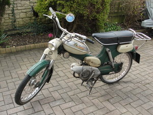 1972 Puch ms50d moped 3 gear air cooled