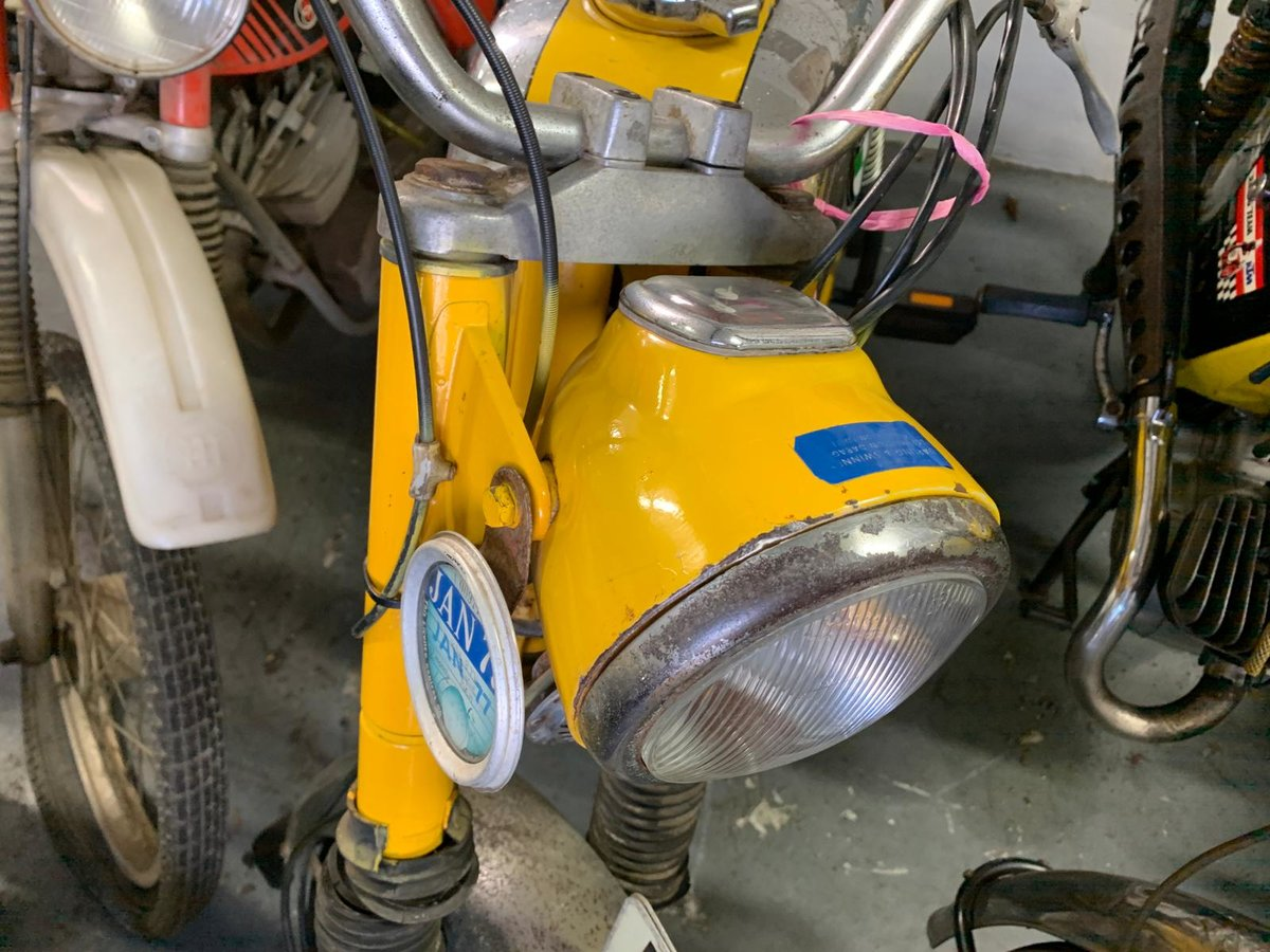 RARE 1973 PUCH MOPED For Sale (picture 2 of 6)