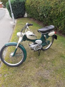 Unrestored MS50D classic Puch moped, 5800 miles.