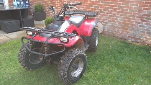 2006 Eton Challenger Quad Bike