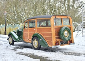 1935 Railton Eight 'Woody' Estate Car SOLD by Auction