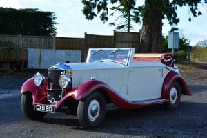 1935 Railton Straight Eight Sports Cabriolet For Sale by Auction