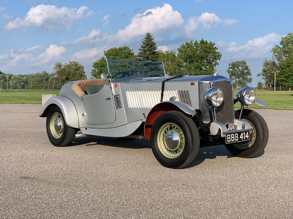 1934 Railton Two-Seater Trails Car  For Sale by Auction (picture 1 of 6)
