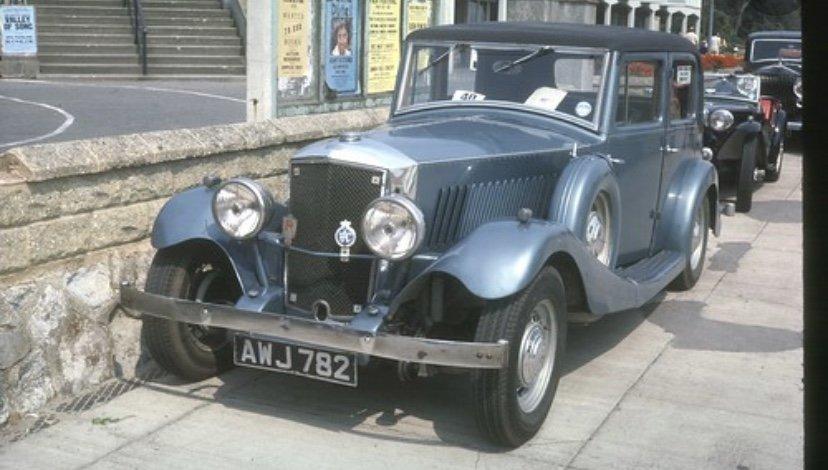 1935 Railton de luxe carbodies SOLD (picture 1 of 4)