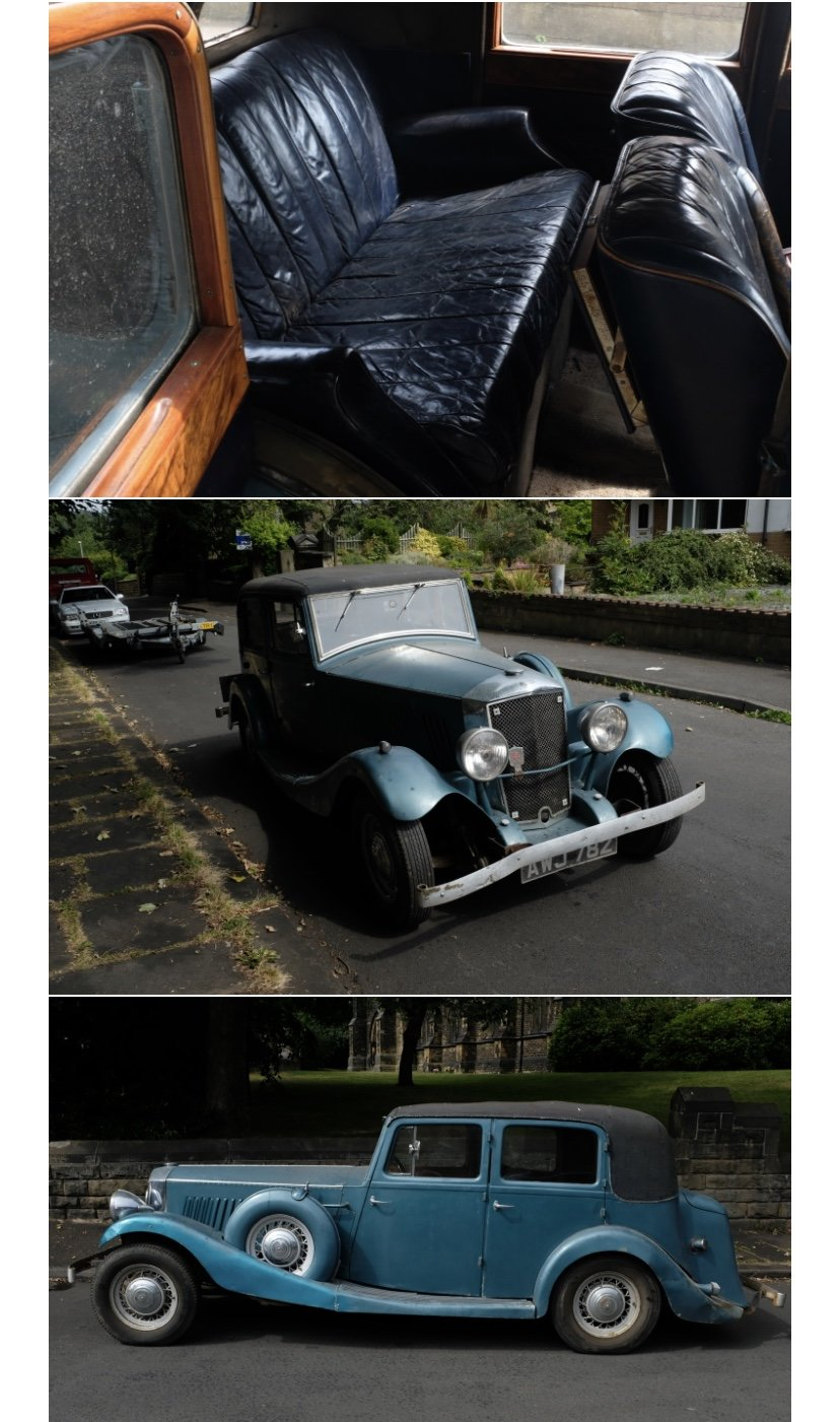 1935 Railton de luxe carbodies SOLD (picture 2 of 4)
