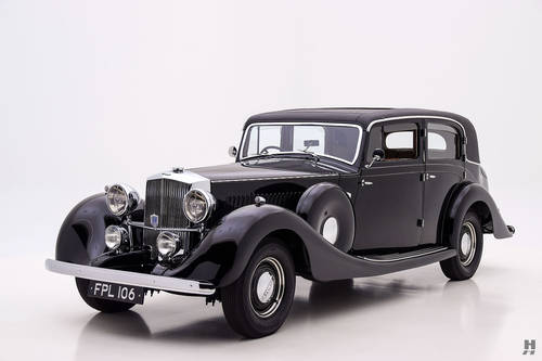 1937 Railton Stratton SOLD (picture 1 of 6)