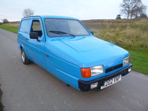 1998 Reliant Robin van mk2 super rare threewheeler commercial For Sale (picture 1 of 4)