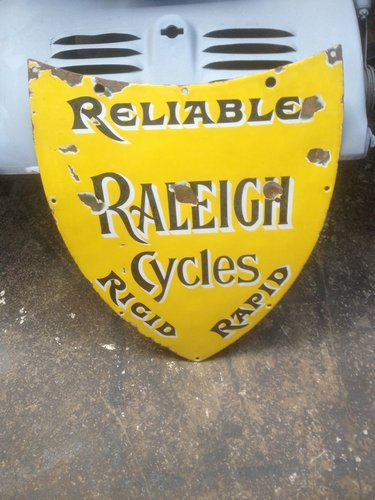 1910 ENAMEL SIGN For Sale (picture 1 of 1)
