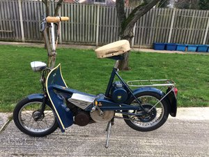 Raleigh Wisp 1968 with legshields For Sale