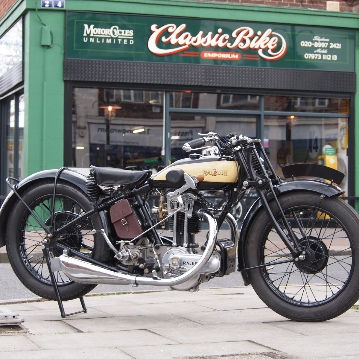 1929 Rare Raleigh Sports 499 RESREVED FOR RENE. SOLD (picture 1 of 6)