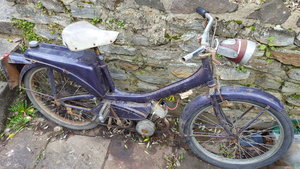 1970 Raleigh Runabout nice number plate For Sale
