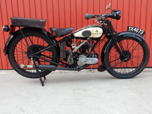 RALEIGH Model 15 De Luxe 248cc 1928 -Original Transferrable  For Sale