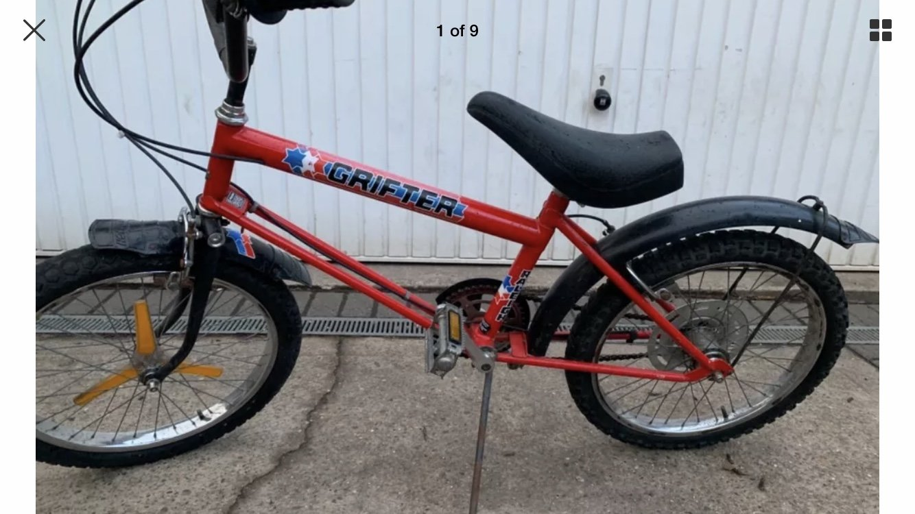 RALEIGH GRIFTERS ANY CONDITION (picture 1 of 2)