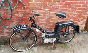 1960 Vintage Raleigh Run about RM moped for restoration For Sale