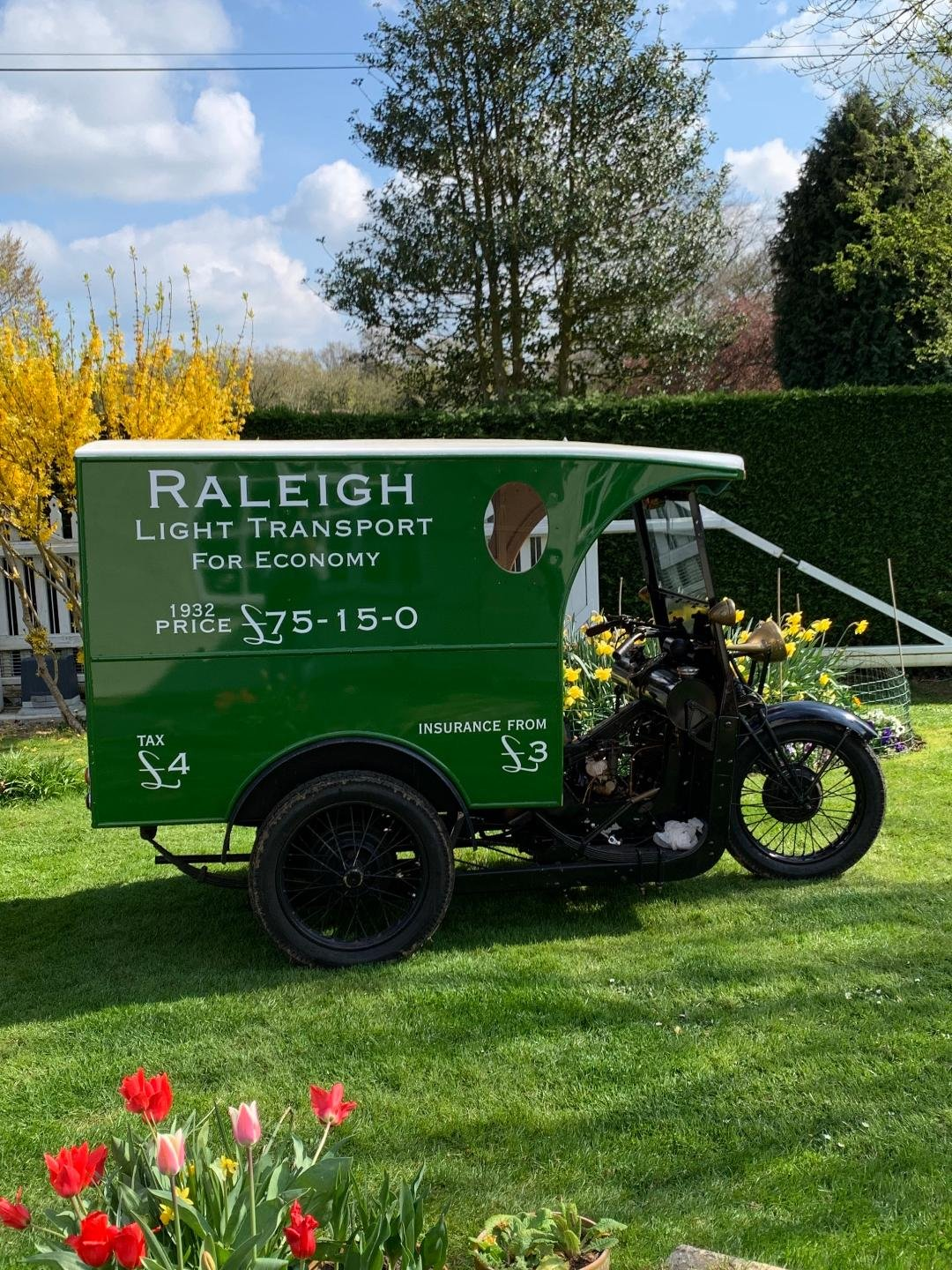 1932 RALEIGH VAN  For Sale (picture 1 of 3)