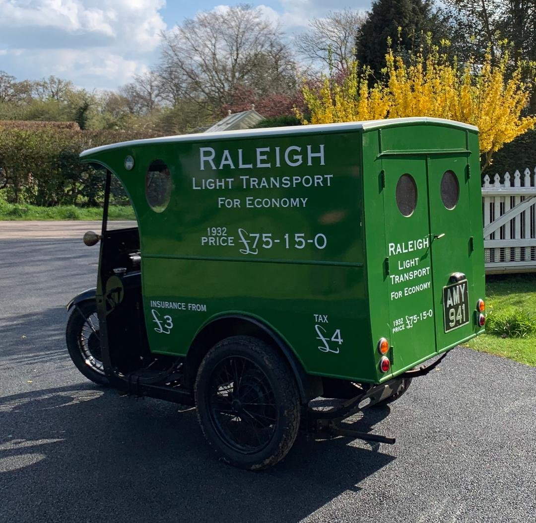 1932 RALEIGH VAN  For Sale (picture 3 of 3)