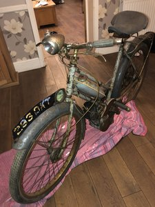 1958 Raleigh Moped 49cc Classic with transferable reg