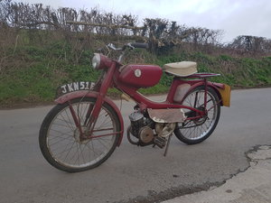 1966 Raleigh RM11 Supertourist moped runabout