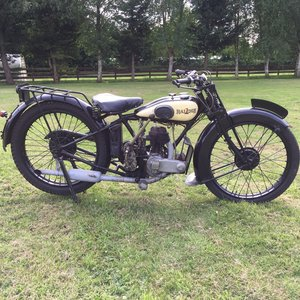 1929 Raleigh 250cc s/v For Sale