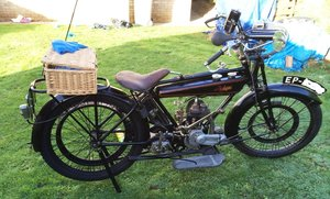 1923 RALEIGH 350CC - 96 YEARS OLD