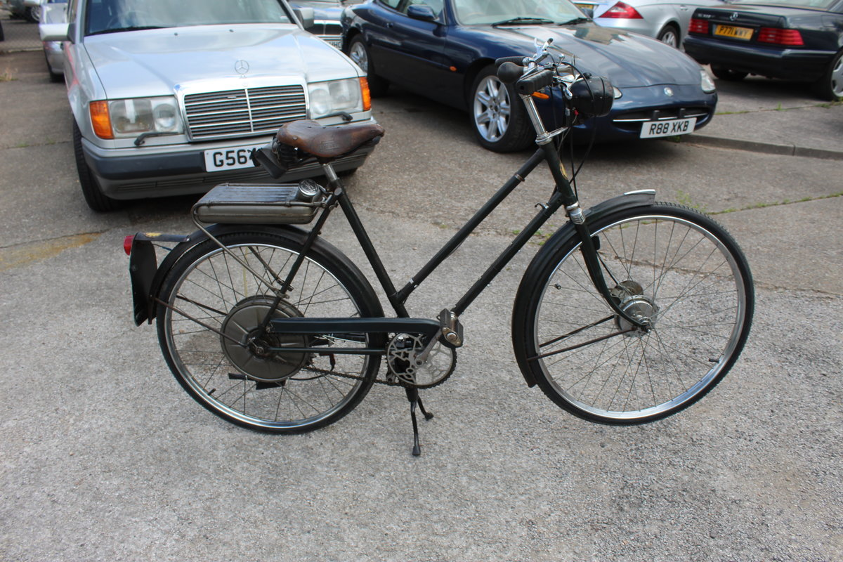 1954 BSA Winged Wheel , Charming and excellent original For Sale (picture 1 of 6)