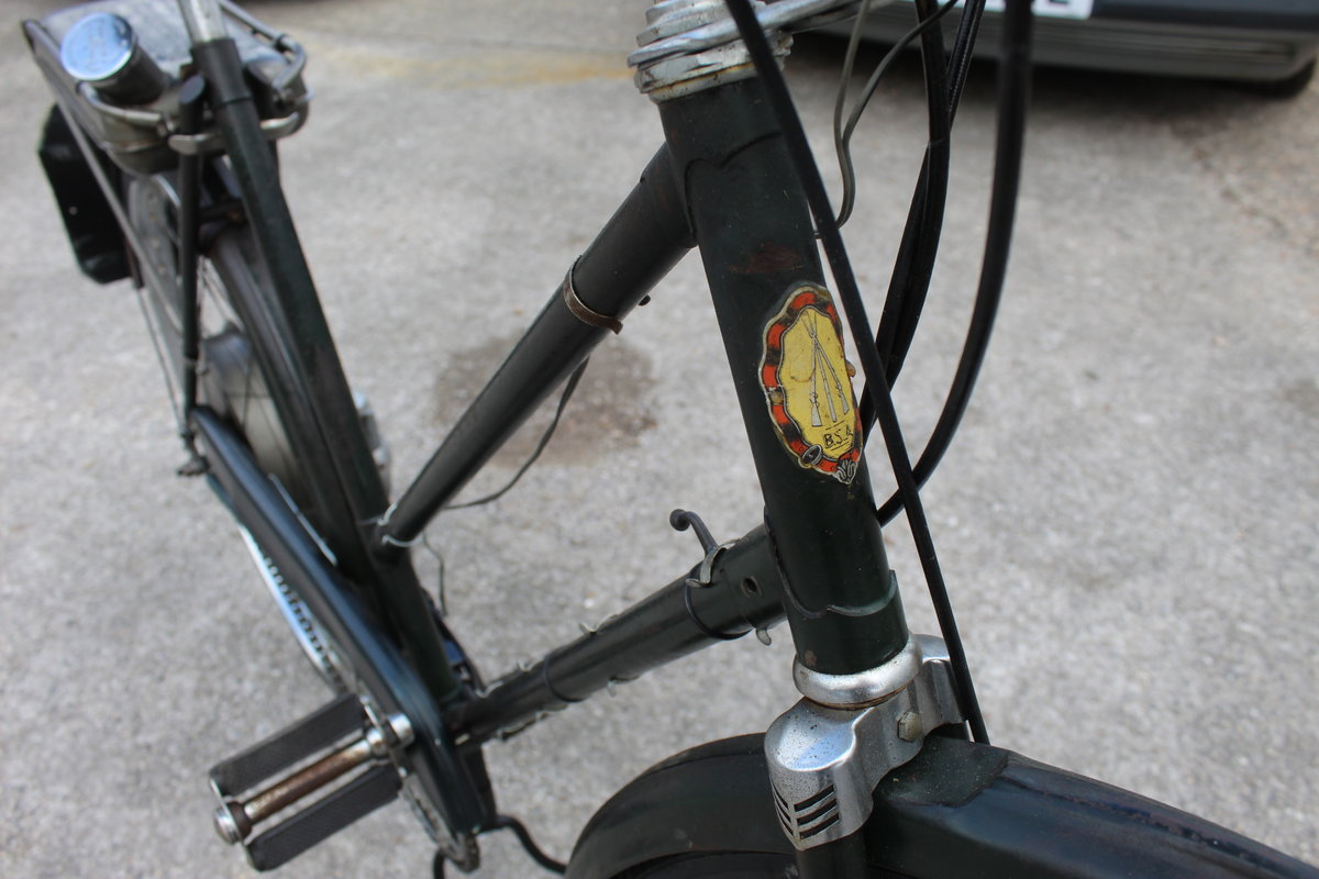 1954 BSA Winged Wheel , Charming and excellent original For Sale (picture 3 of 6)