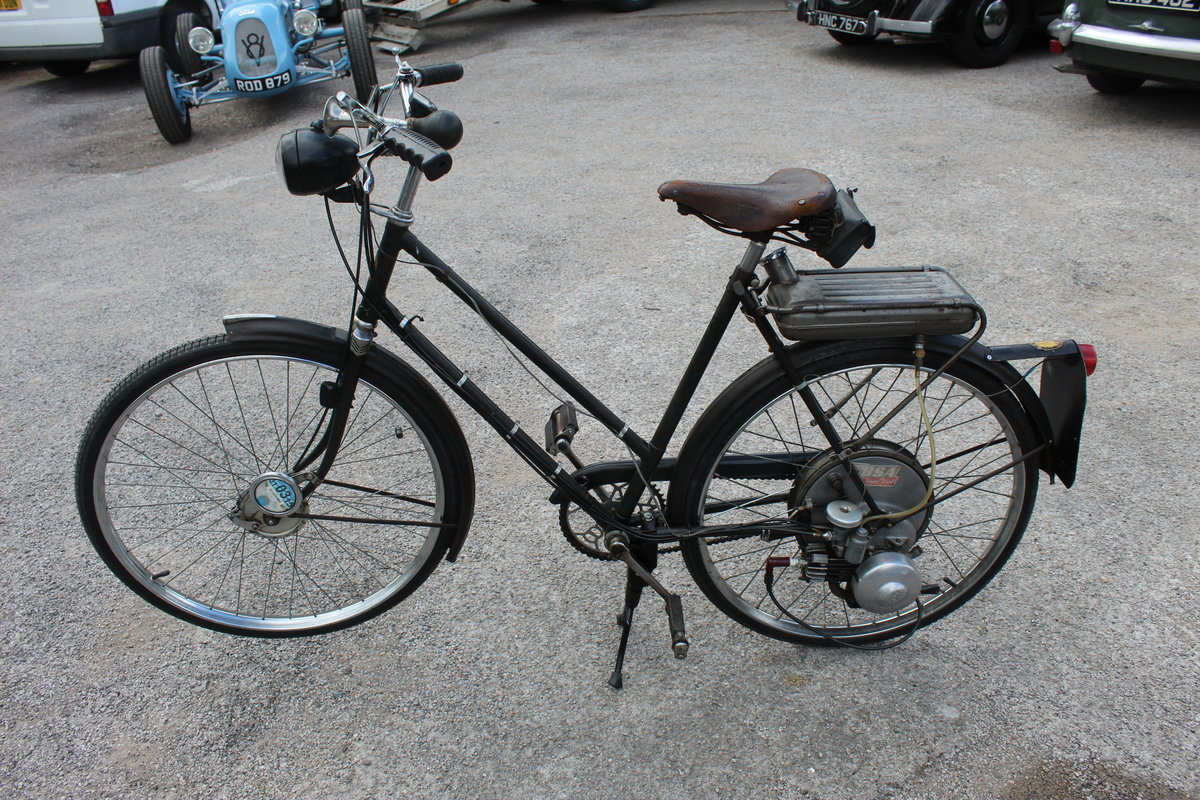1954 BSA Winged Wheel , Charming and excellent original For Sale (picture 4 of 6)