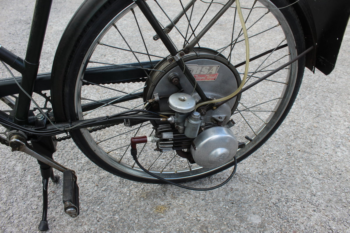 1954 BSA Winged Wheel , Charming and excellent original For Sale (picture 5 of 6)