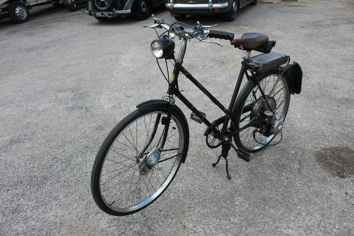 1954 BSA Winged Wheel , Charming and excellent original For Sale (picture 6 of 6)