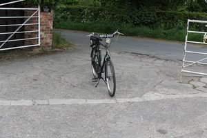 Picture of 1955 Cyclaid 31cc Raleigh Hercules Gentlemans Moped - Very Rare SOLD