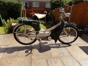 Raleigh Runabout   Ride or Show moped  £1650