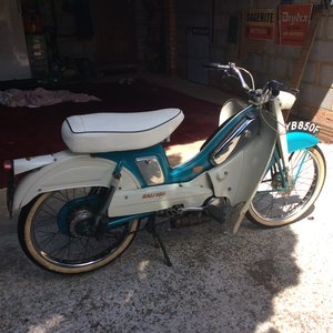 Original Unrestored Raleigh RM5 Supermatic. 49cc