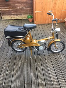 1969 Raleigh Wisp Moped 1968