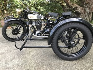 1928 Raleigh 500 sports tt - model 23 - concours