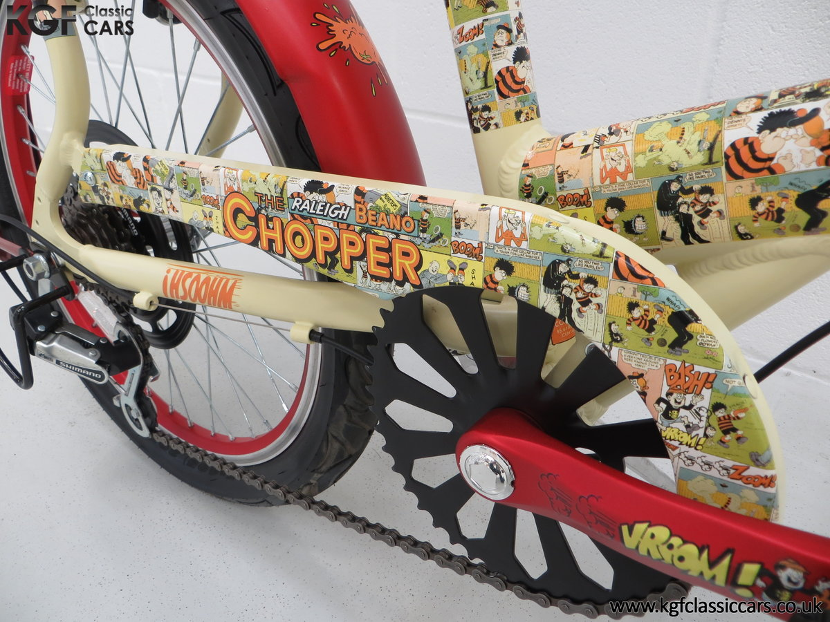 2014 A Never Ridden Raleigh Beano Chopper Limited Edition SOLD (picture 18 of 20)