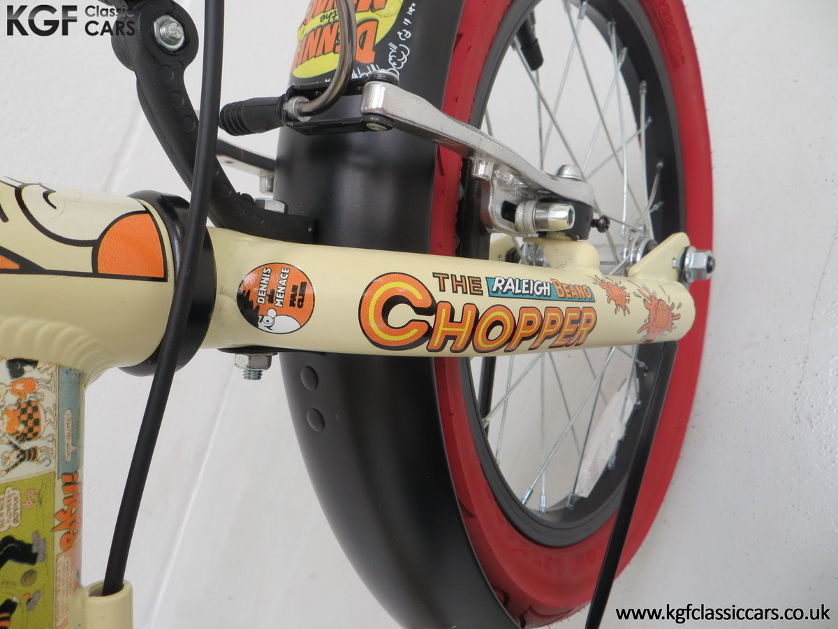 2014 A Never Ridden Raleigh Beano Chopper Limited Edition SOLD (picture 20 of 20)