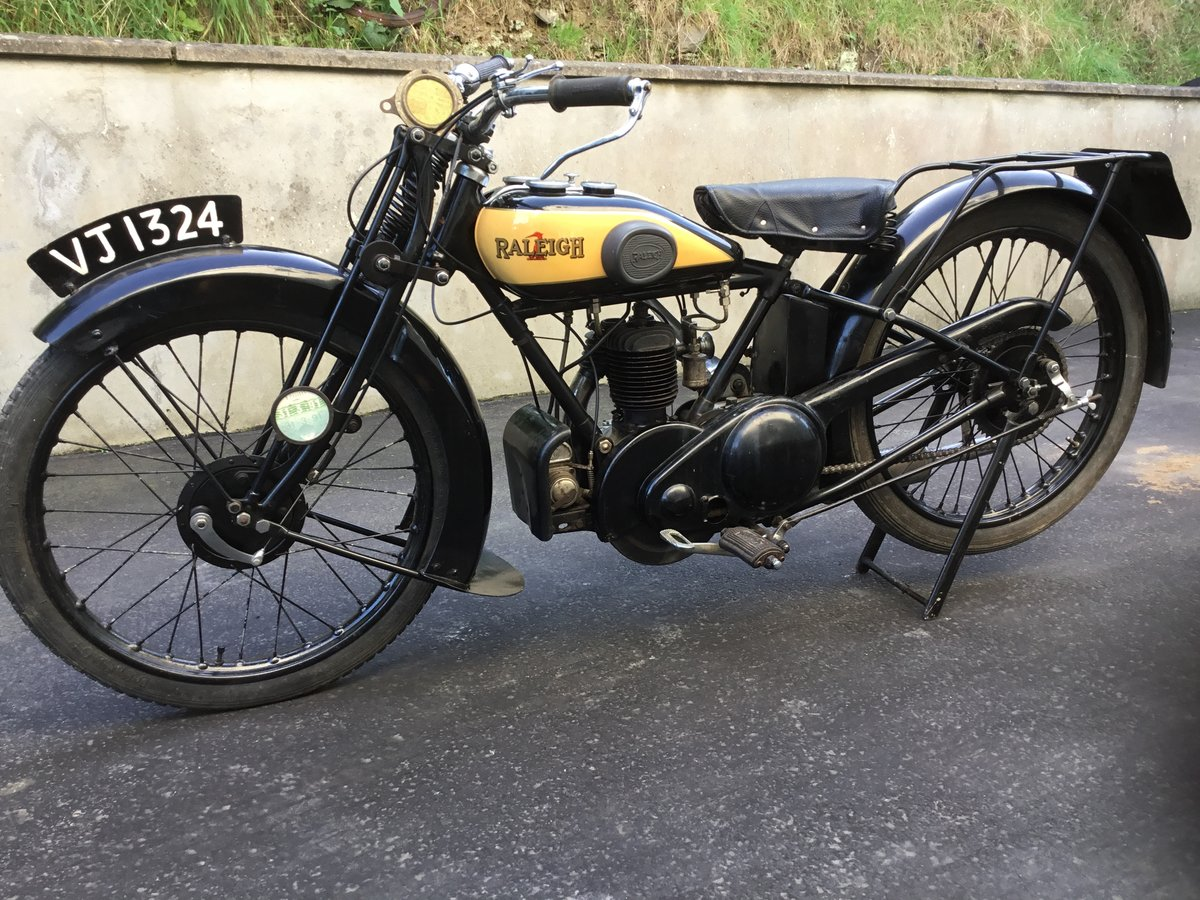 1929 Raleigh 250 Deluxe SOLD (picture 1 of 6)