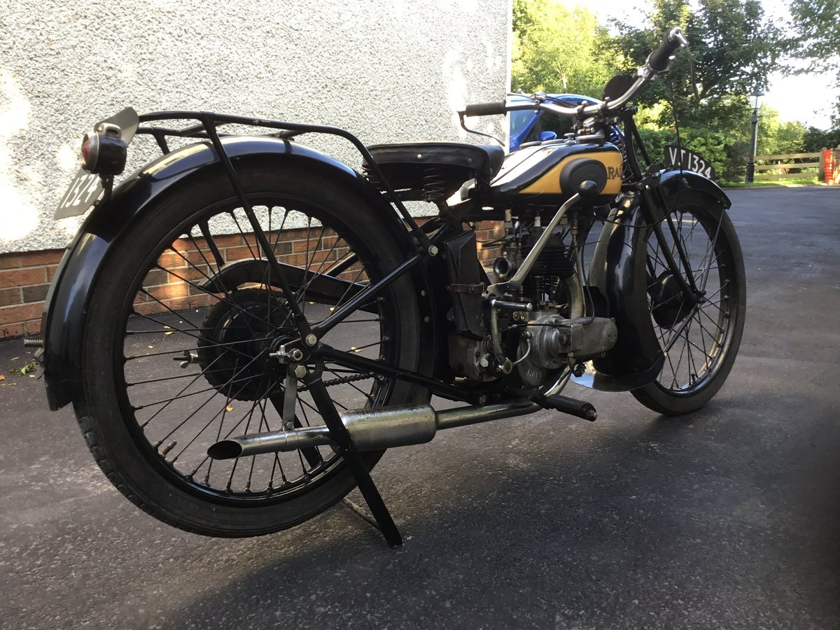 1929 Raleigh 250 Deluxe SOLD (picture 2 of 6)