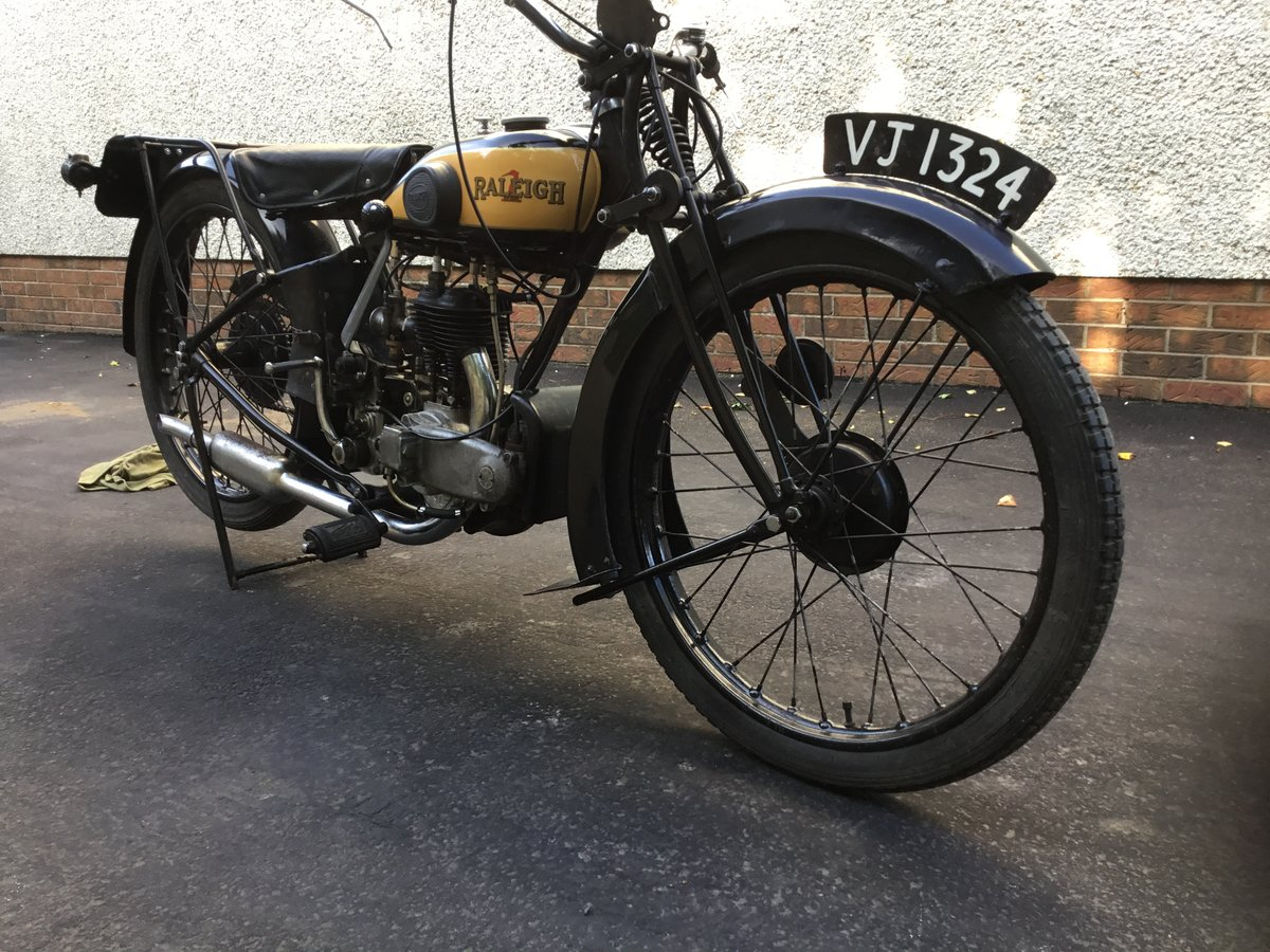 1929 Raleigh 250 Deluxe SOLD (picture 3 of 6)