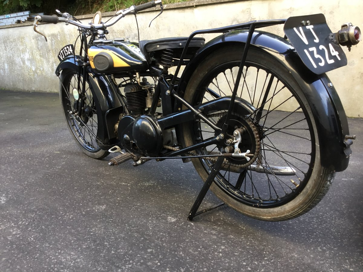 1929 Raleigh 250 Deluxe SOLD (picture 4 of 6)