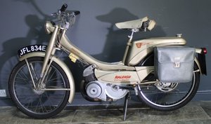 1967 Raleigh RM9 Moped 49 cc Two Stroke