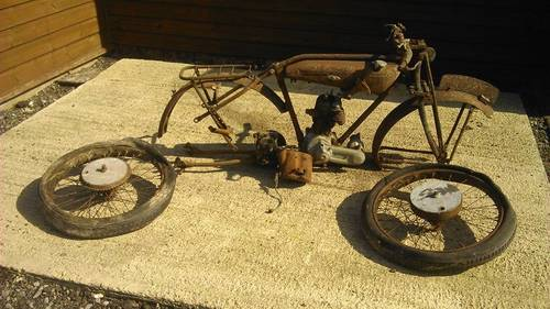 1927 Raleigh Model 20 Barn find Restoration Project SOLD (picture 1 of 1)