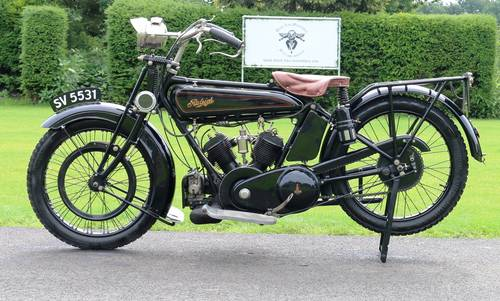 1921 Raleigh 800cc V-twin very rare bike runs great  For Sale (picture 1 of 6)